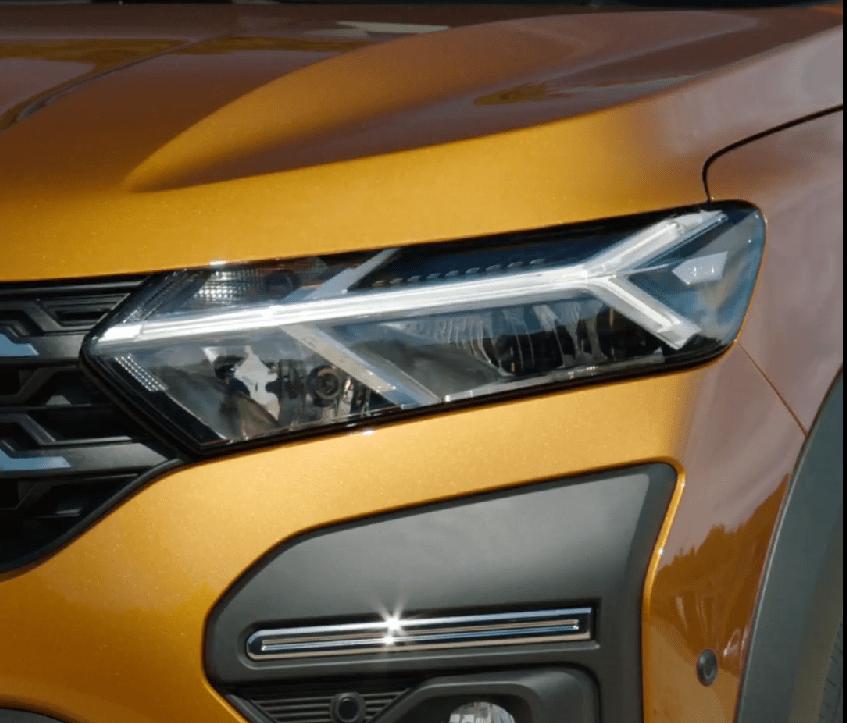 New model front lights