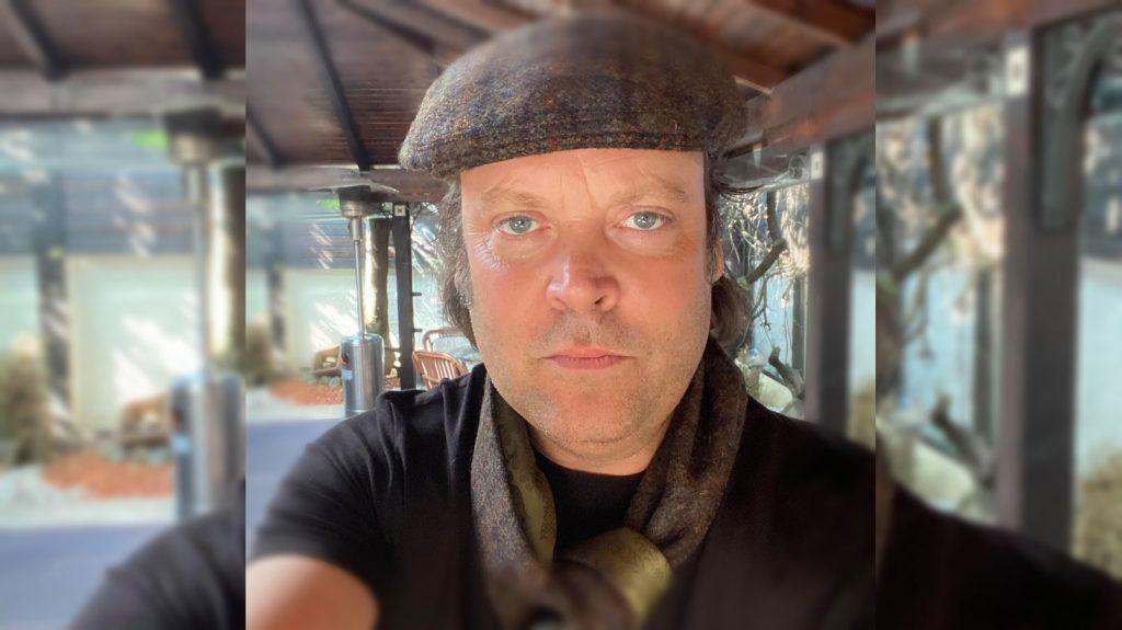 Film producer Charlie Ottley