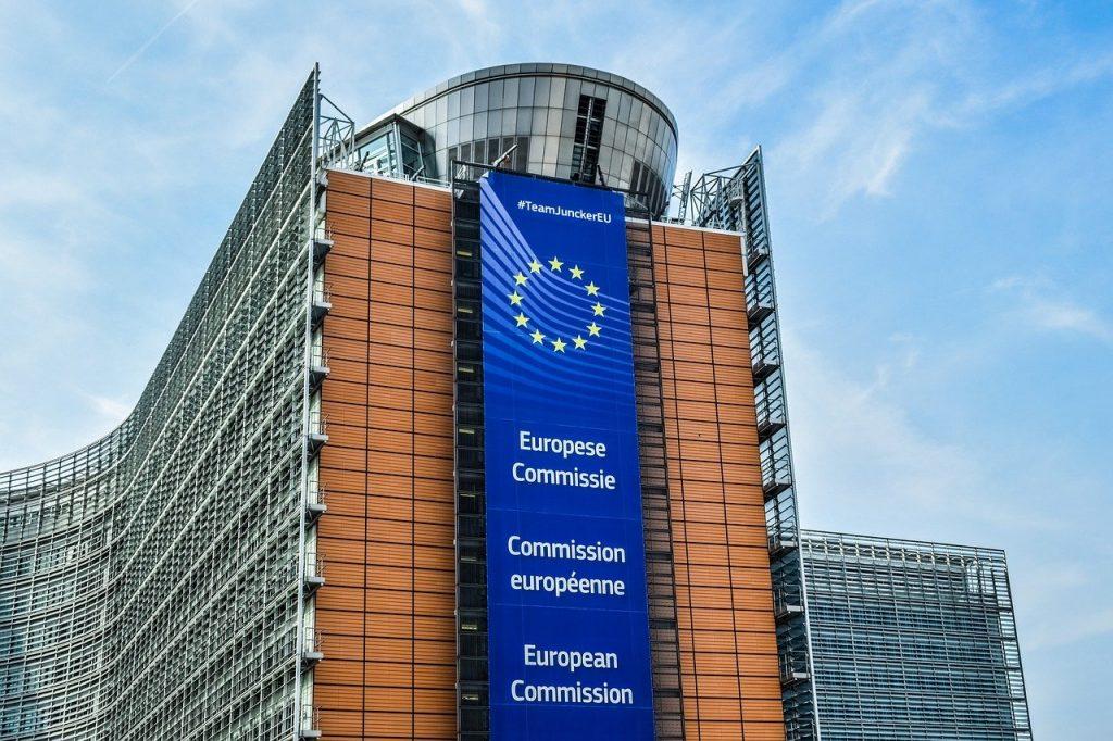 European Union - Headquarters of the European Commission in Brussels, Belgium