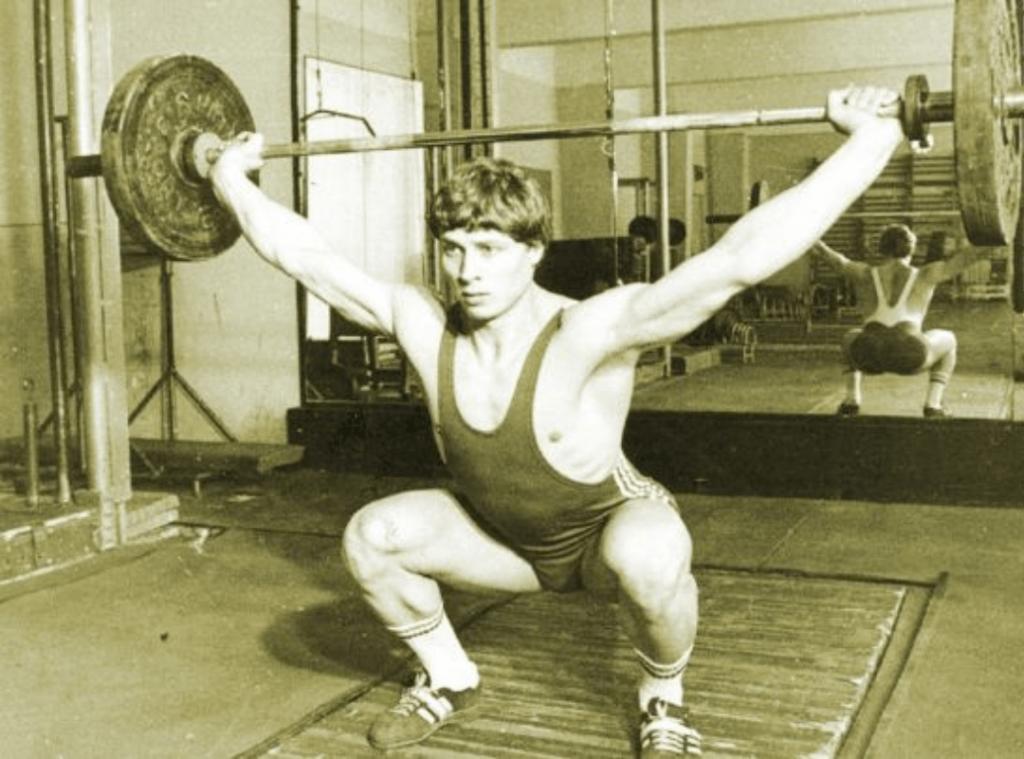Nicu Vlad - Romanian Weightlifter