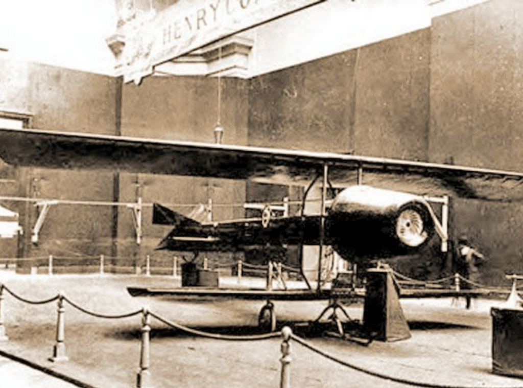Coanda 1910 Airjet invented by Romanians