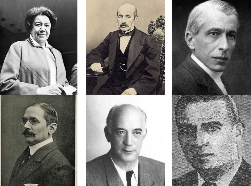 Ana Aslan, Petrache Poenaru, Nicolae Paulescu, Aurel Babes, Henri Coanda, Anastase Dragomir - Romanian Inventors