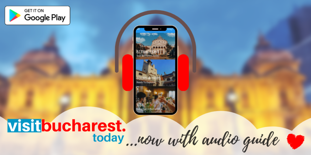Audio guide feature for Visit Bucharest Today!