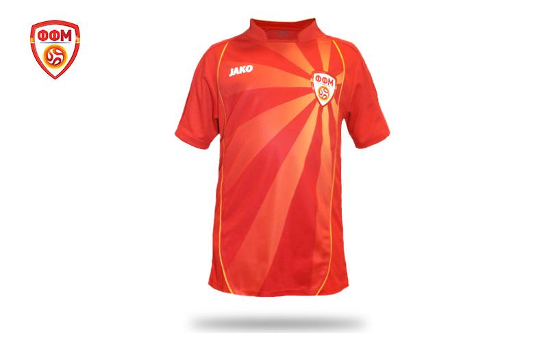 Macedonian Football Team T-shirt at EURO 2020