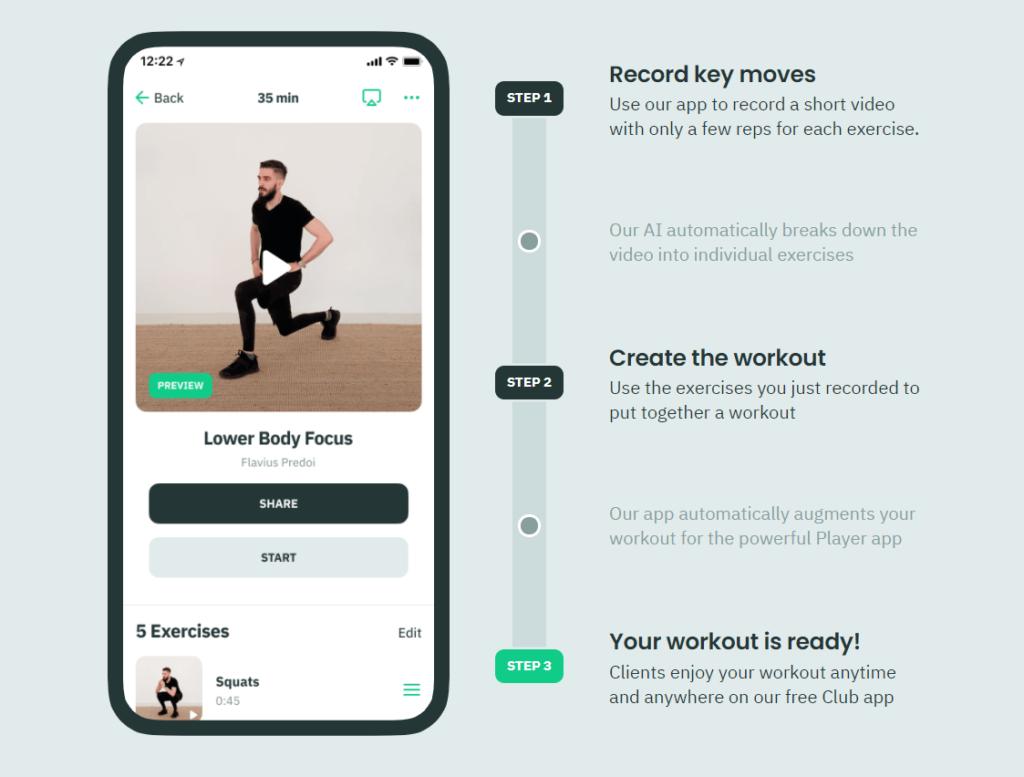 Hyperhuman turnkey fitness app